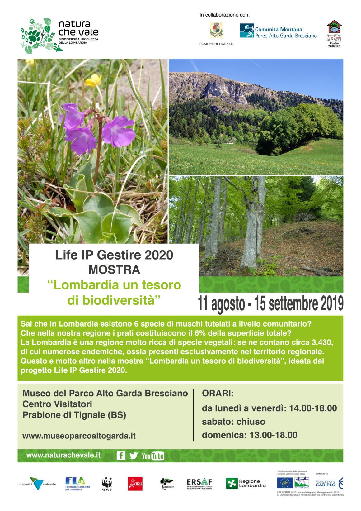"""Mostra fotografica """"Lombardia: un tesoro di Biodiversità"""""""